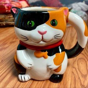 Pier 1 Imports Cat/Mouse Mug